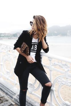 50 Ways to Wear Perfect Black and White in Fashion Ideas 15