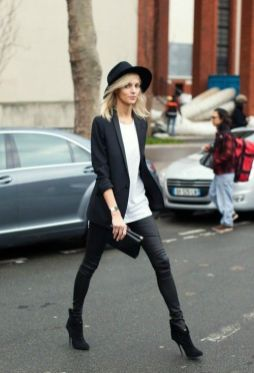 50 Ways to Wear Perfect Black and White in Fashion Ideas 17