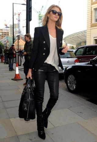 50 Ways to Wear Perfect Black and White in Fashion Ideas 5
