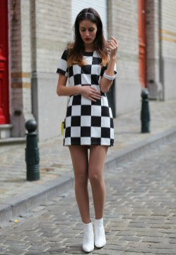50 Ways to Wear Perfect Black and White in Fashion Ideas 53