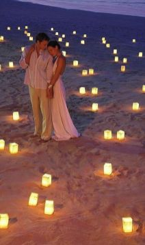 60 Beach Wedding Themed Ideas 21