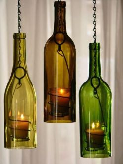 80 Ways to Reuse Your Glass Bottle Ideas 3