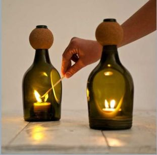 80 Ways to Reuse Your Glass Bottle Ideas 80