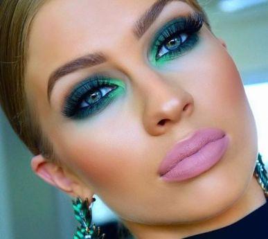 40 Green Eyeshadow Looks Ideas 1