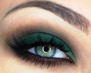 40 Green Eyeshadow Looks Ideas 10