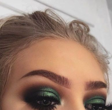 40 Green Eyeshadow Looks Ideas 2