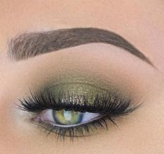 40 Green Eyeshadow Looks Ideas 40