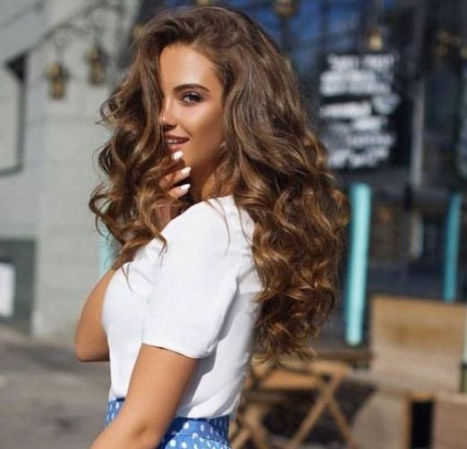 40 Loose Curly Natural Hairstyle Ideas 1