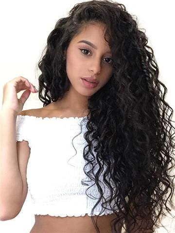 40 Loose Curly Natural Hairstyle Ideas 23