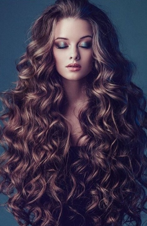 40 Loose Curly Natural Hairstyle Ideas 40