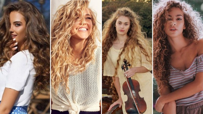 40 Loose Curly Natural Hairstyle Ideas