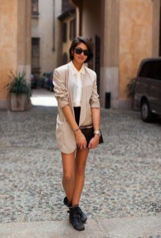 40 Ways to Wear Oversized Blazer for Women Ideas 11
