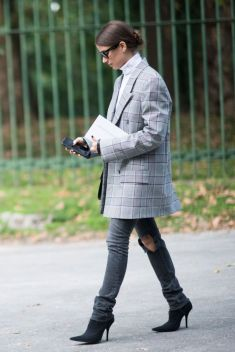 40 Ways to Wear Oversized Blazer for Women Ideas 16