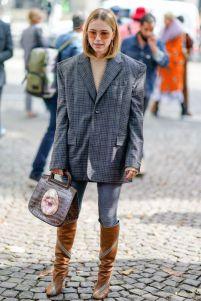 40 Ways to Wear Oversized Blazer for Women Ideas 19