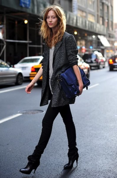 40 Ways to Wear Oversized Blazer for Women Ideas 29