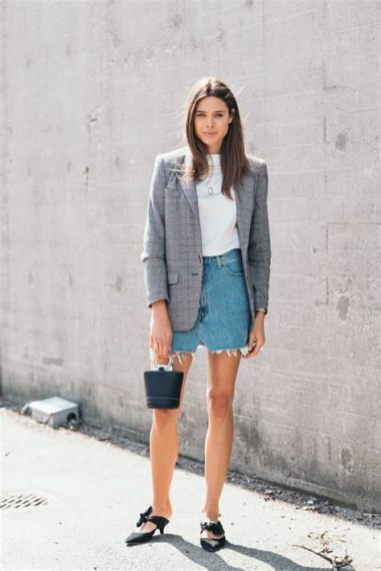 40 Ways to Wear Oversized Blazer for Women Ideas 46