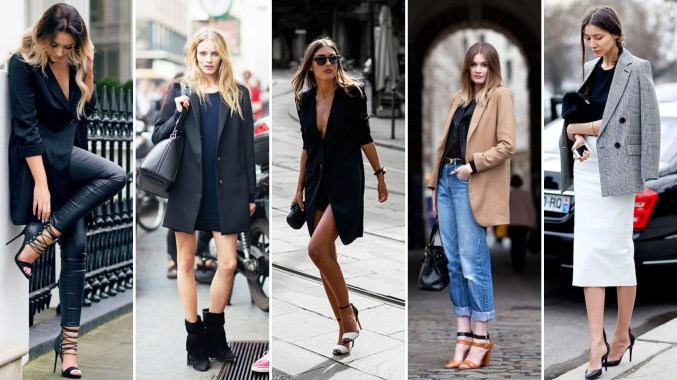 40 Ways to Wear Oversized Blazer for Women Ideas