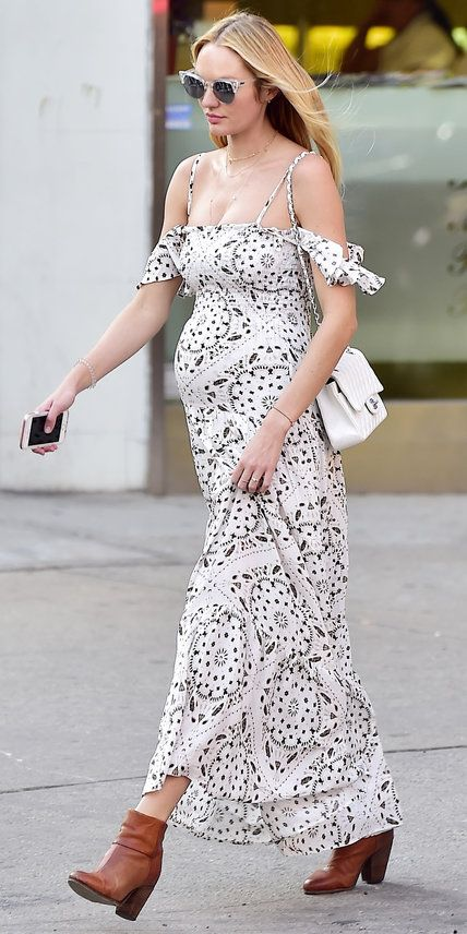 50 Comfy and Stylish Maternity Outfits Street Style Looks 13