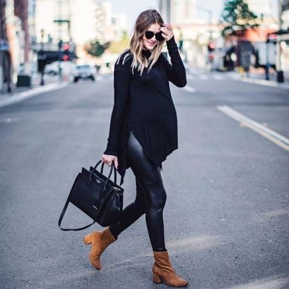 50 Comfy and Stylish Maternity Outfits Street Style Looks 2