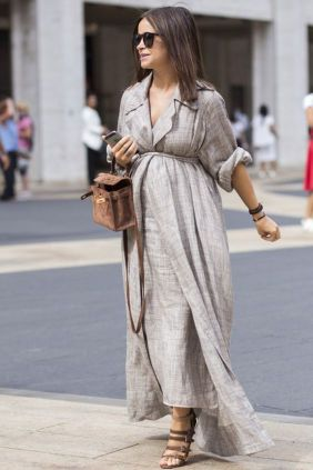 50 Comfy and Stylish Maternity Outfits Street Style Looks 51
