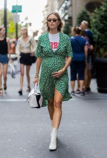50 Comfy and Stylish Maternity Outfits Street Style Looks 6