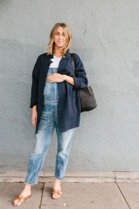 50 Comfy and Stylish Maternity Outfits Street Style Looks 8