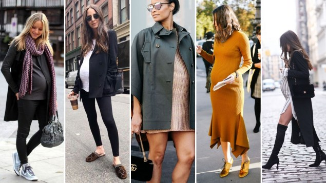 50 Comfy and Stylish Maternity Outfits Street Style Looks