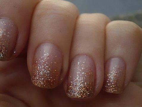 50 Glam Gold Girly Nail Art Looks Ideas 5