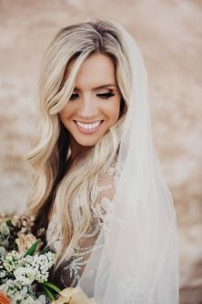 50 Natural Loose Hairstyle Looks for Brides Ideas 29