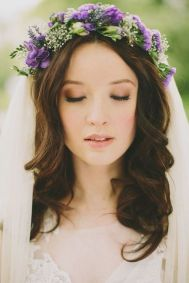 50 Natural Loose Hairstyle Looks for Brides Ideas 9