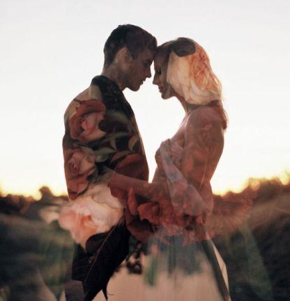 50 Romantic Wedding Double Exposure Photos Ideas 12