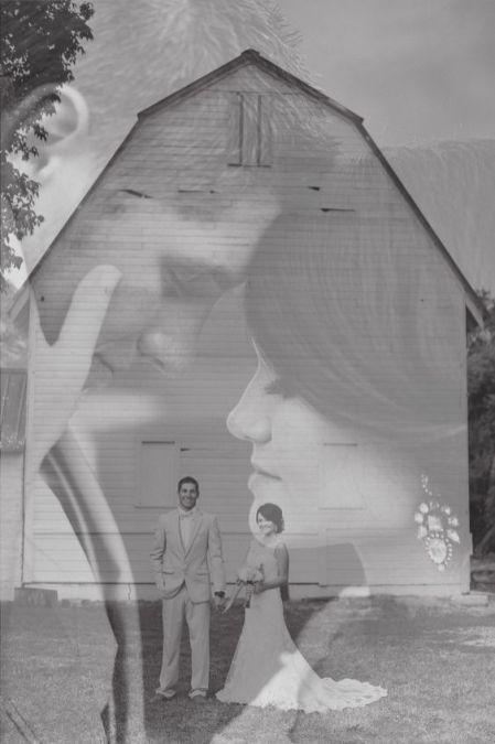 50 Romantic Wedding Double Exposure Photos Ideas 13
