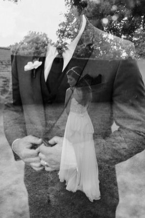 50 Romantic Wedding Double Exposure Photos Ideas 25