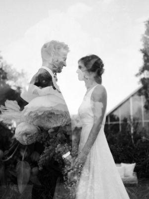 50 Romantic Wedding Double Exposure Photos Ideas 3