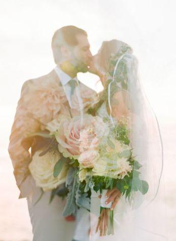 50 Romantic Wedding Double Exposure Photos Ideas 34
