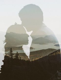 50 Romantic Wedding Double Exposure Photos Ideas 49