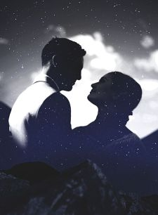 50 Romantic Wedding Double Exposure Photos Ideas 55