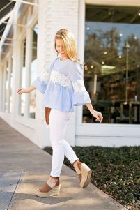 50 Ways to Wear Wedges for Spring and Summer Ideas 15