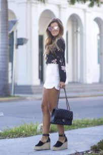 50 Ways to Wear Wedges for Spring and Summer Ideas 17