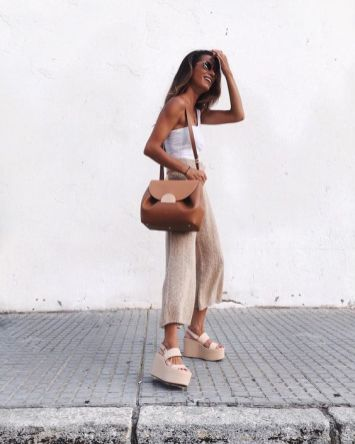 50 Ways to Wear Wedges for Spring and Summer Ideas 21