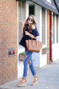 50 Ways to Wear Wedges for Spring and Summer Ideas 29
