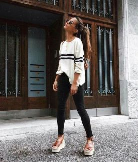 50 Ways to Wear Wedges for Spring and Summer Ideas 31