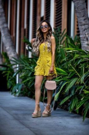 50 Ways to Wear Wedges for Spring and Summer Ideas 35