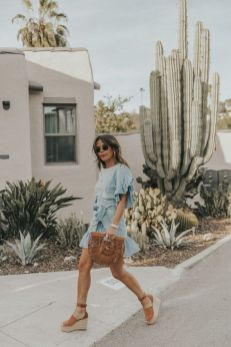 50 Ways to Wear Wedges for Spring and Summer Ideas 39