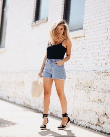 50 Ways to Wear Wedges for Spring and Summer Ideas 46
