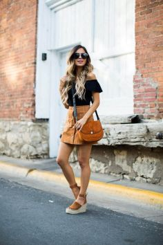 50 Ways to Wear Wedges for Spring and Summer Ideas 49