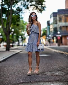 50 Ways to Wear Wedges for Spring and Summer Ideas 7