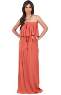 30 Inspiration for a sleeveless long dress outfit to appear feminine and trendy 26