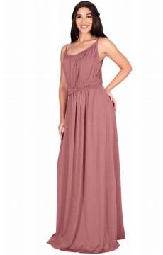 30 Inspiration for a sleeveless long dress outfit to appear feminine and trendy 28