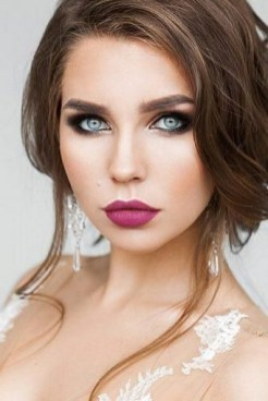 35 Inspirations Makeup Wedding For Blue Eyes 14